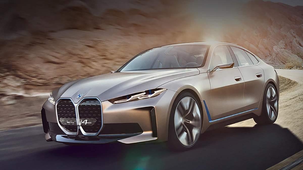 BMW презентувала розкішне електрокупе Concept i4: фото, відео