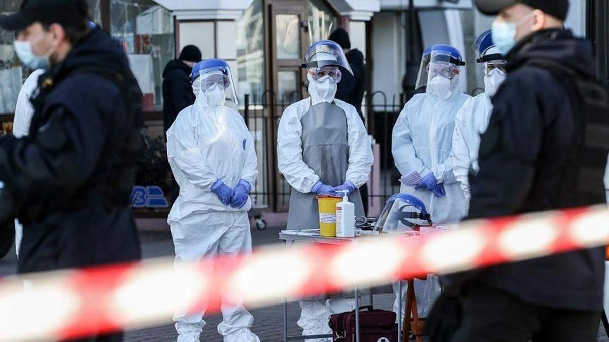 Нові випадки коронавірусу в Україні