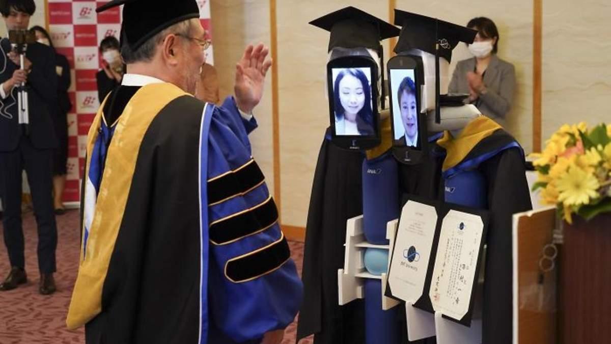 Вручение дипломов в Японии