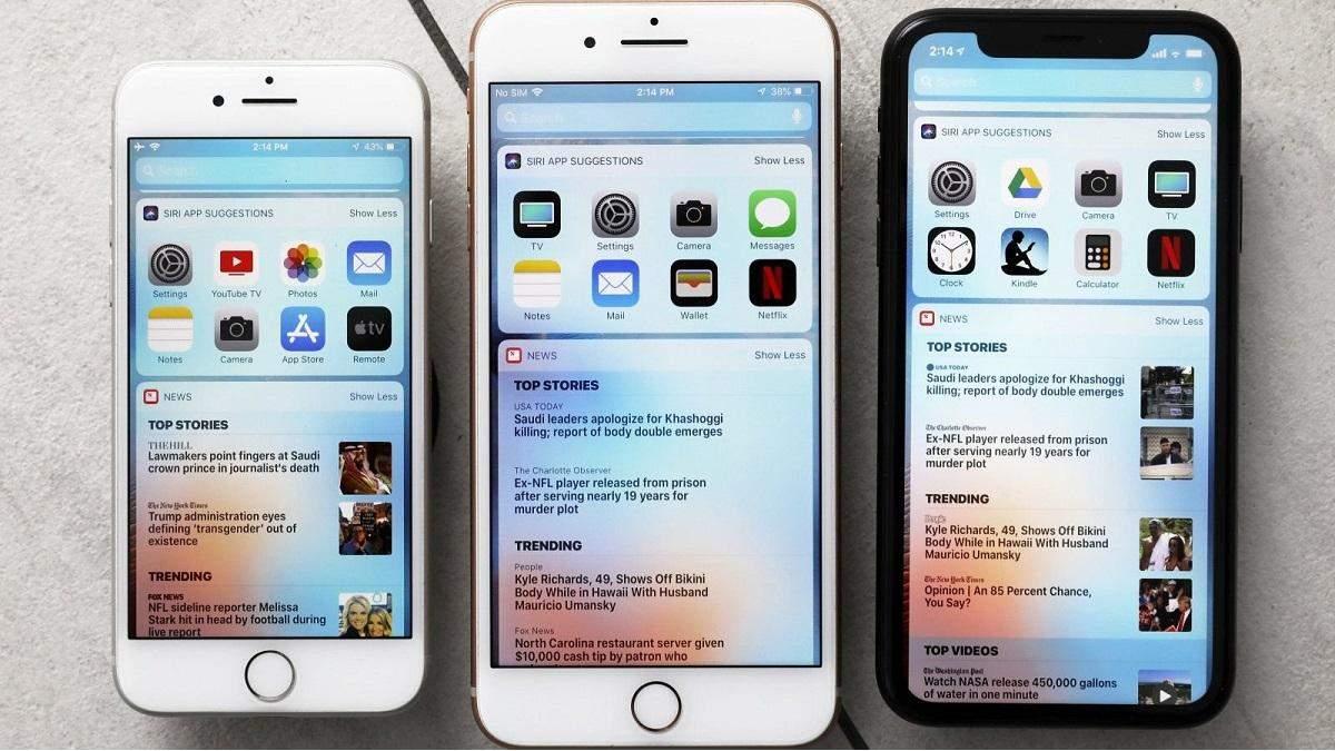 iPhone отримає екранні віджети