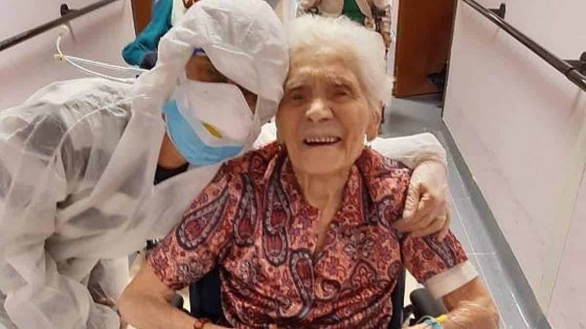 104-летняя женщина выздоровела от коронавируса