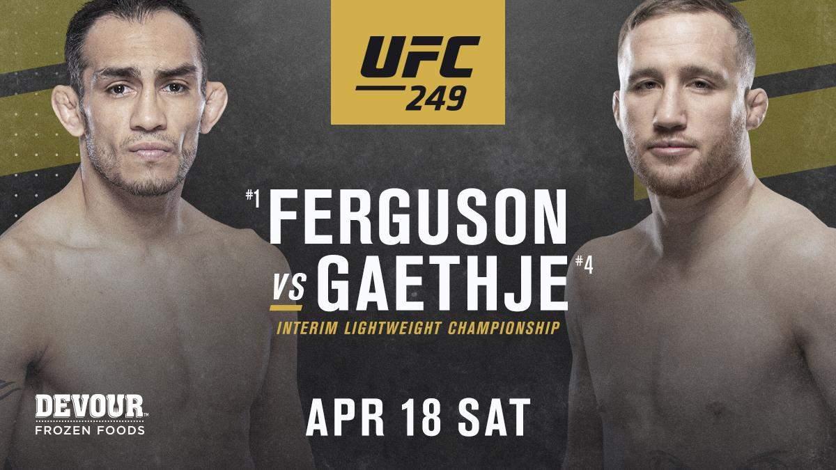 UFC 249 бій 18.04.2020 – хто суперник Тоні Фергюсона