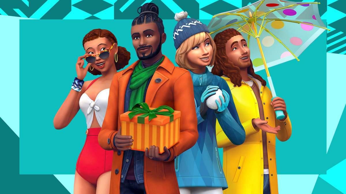 Заставка к игре The Sims 4