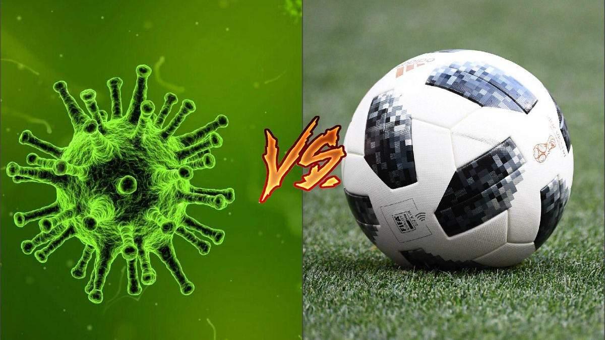 Футбол VS Коронавирус