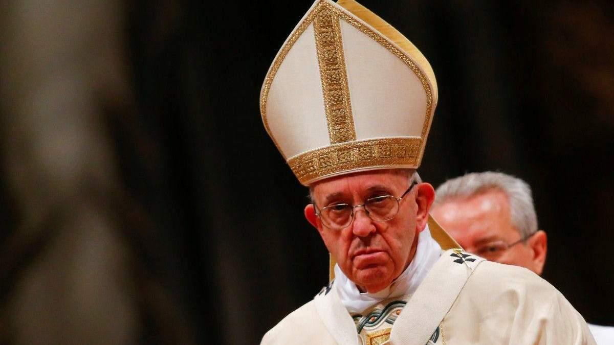 Папа Римский прокомментировал ситуацию с распространением коронавирус в мире