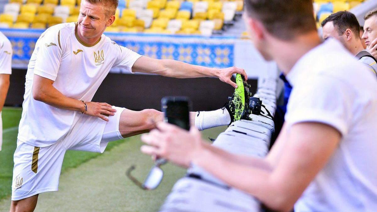 Цены на украинских футболистов