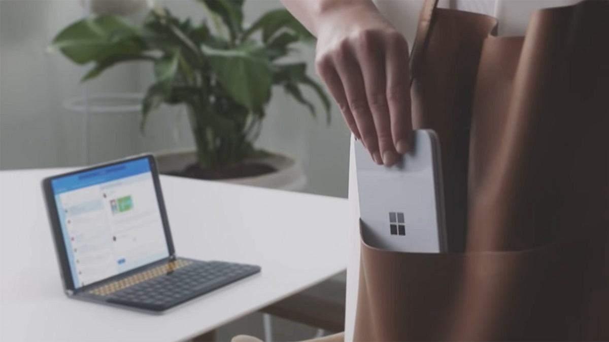 Показали первое фото, сделанное на Surface Duo