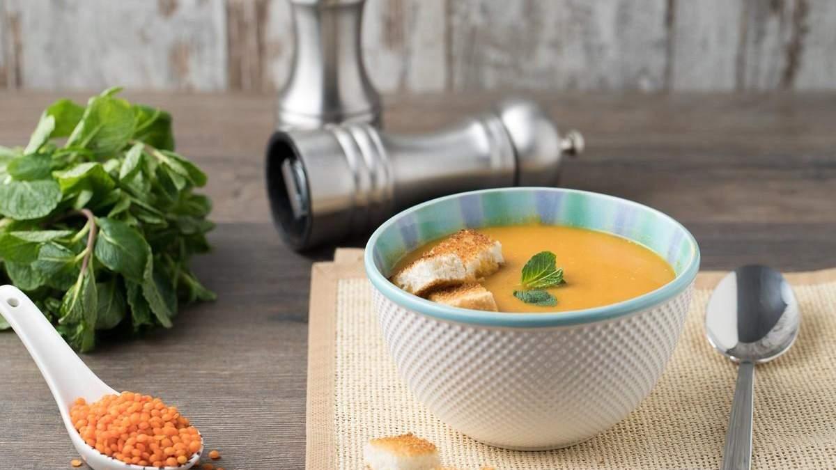 Рецепт супа-пюре из чечевицы