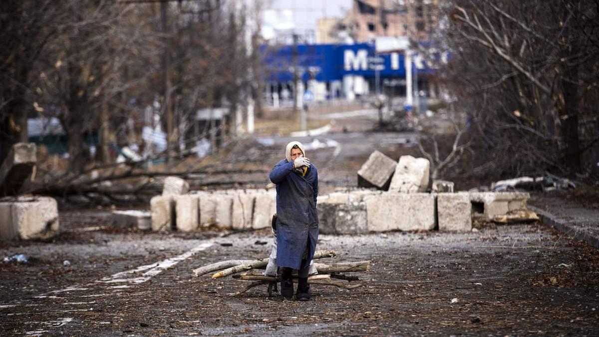Полное вытеснение украинцев
