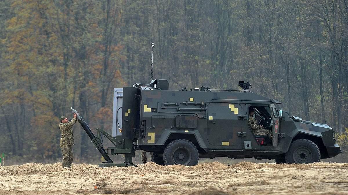 Минометчики ВСУ получили первые мобильные комплексы Барс