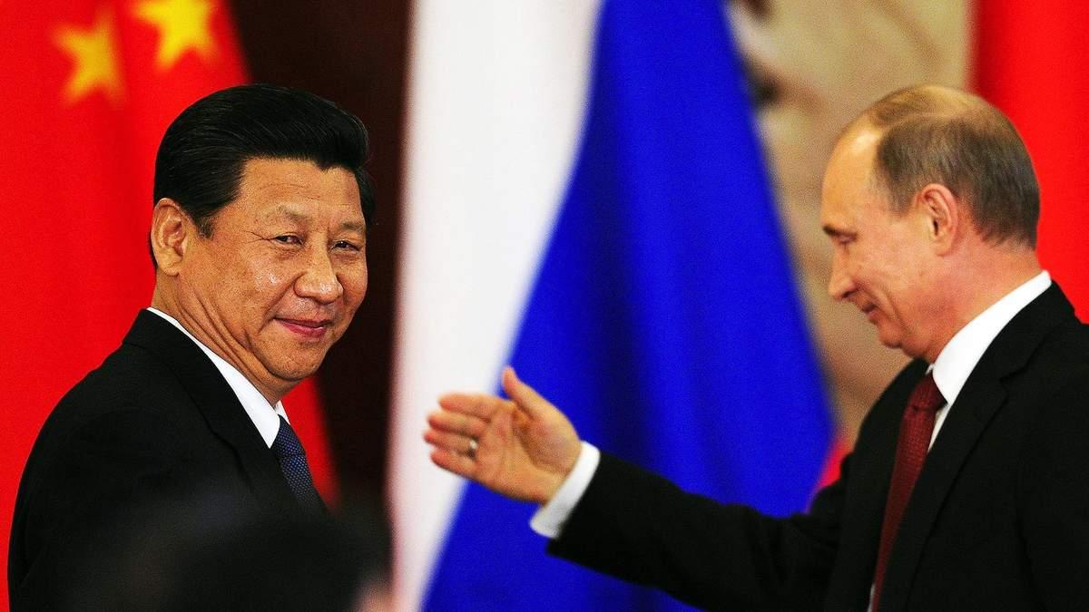 Володимир Путін та Сі Цзіньпін