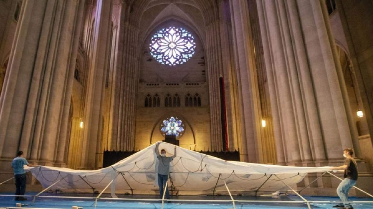 Кафедральний собор у Нью-Йорку став шпиталем