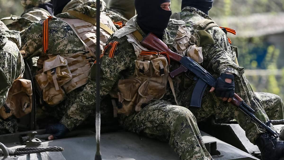 Про військову техніку Росії на Донбасі та місця дислокації терористів
