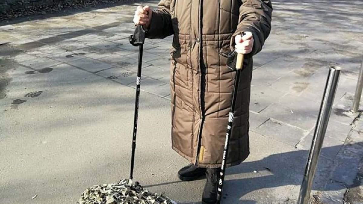 Вік – не перешкода: як 84-річна жінка армії допомагає