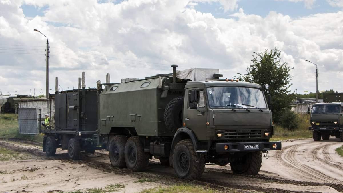 Бойовики на Донбасі активно використовують російську радіоелектроніку