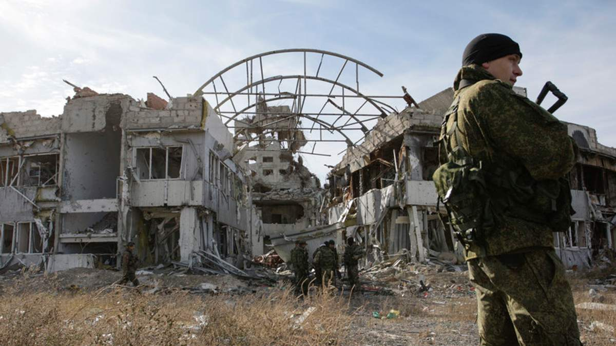 """""""Росія поможет"""": терористи користуються буржуйками """"кіборгів"""": дивіться відео"""