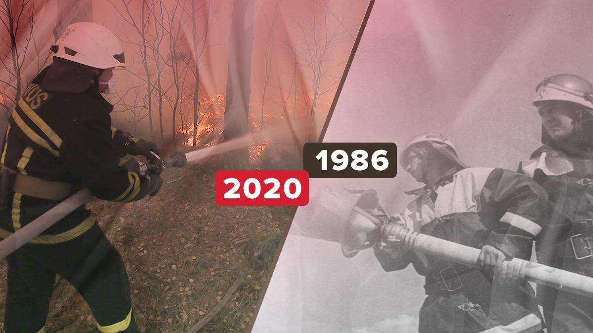 Як боролися пожежники у різні роки