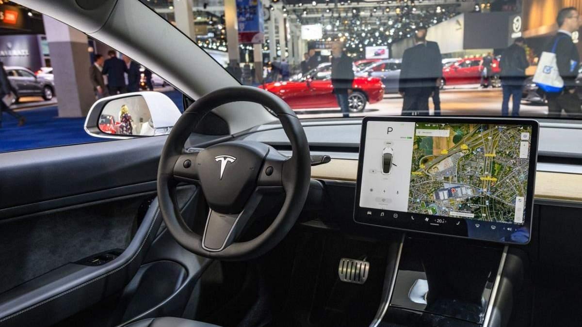 Назначение камеры в Tesla раскрыто