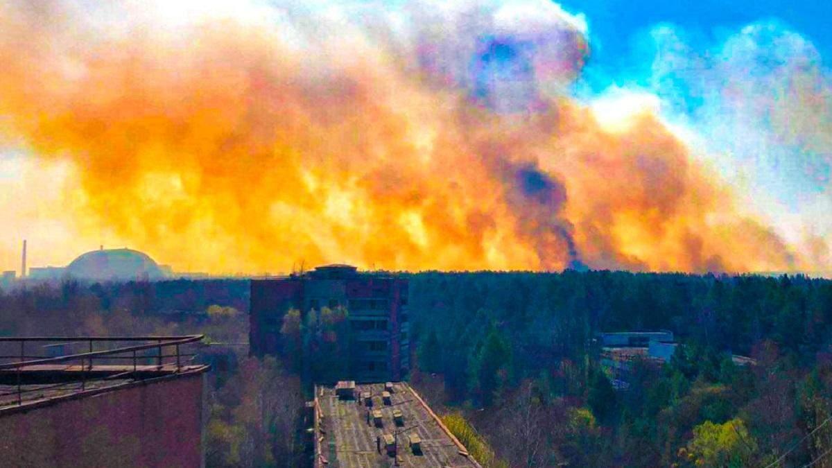 Чорнобильську пожежу загасили.