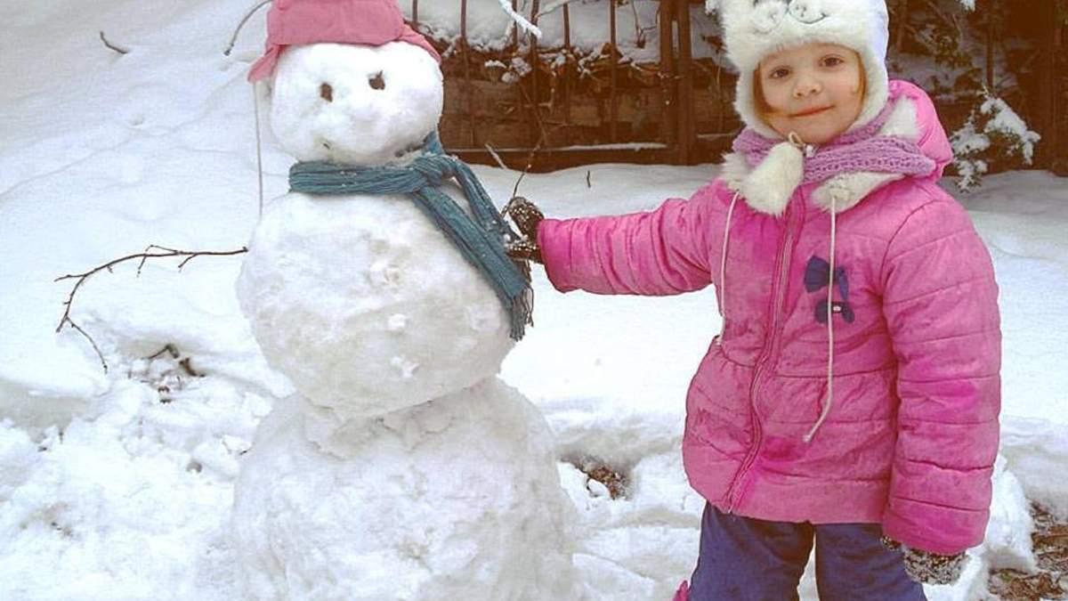 Амелі та сніговик