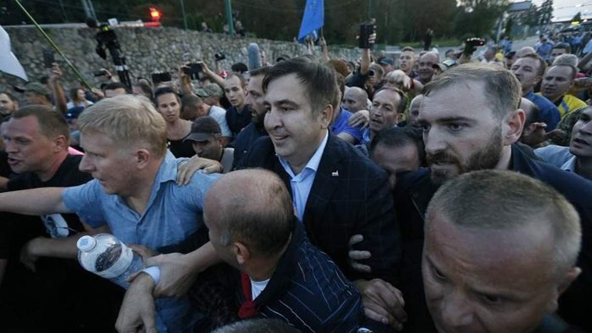 Шоу с Саакашвили – могила для Порошенка, вырытая собственными руками