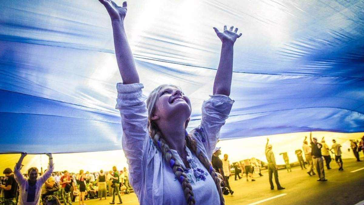 Акція до Дня Незалежності: один день з життя України