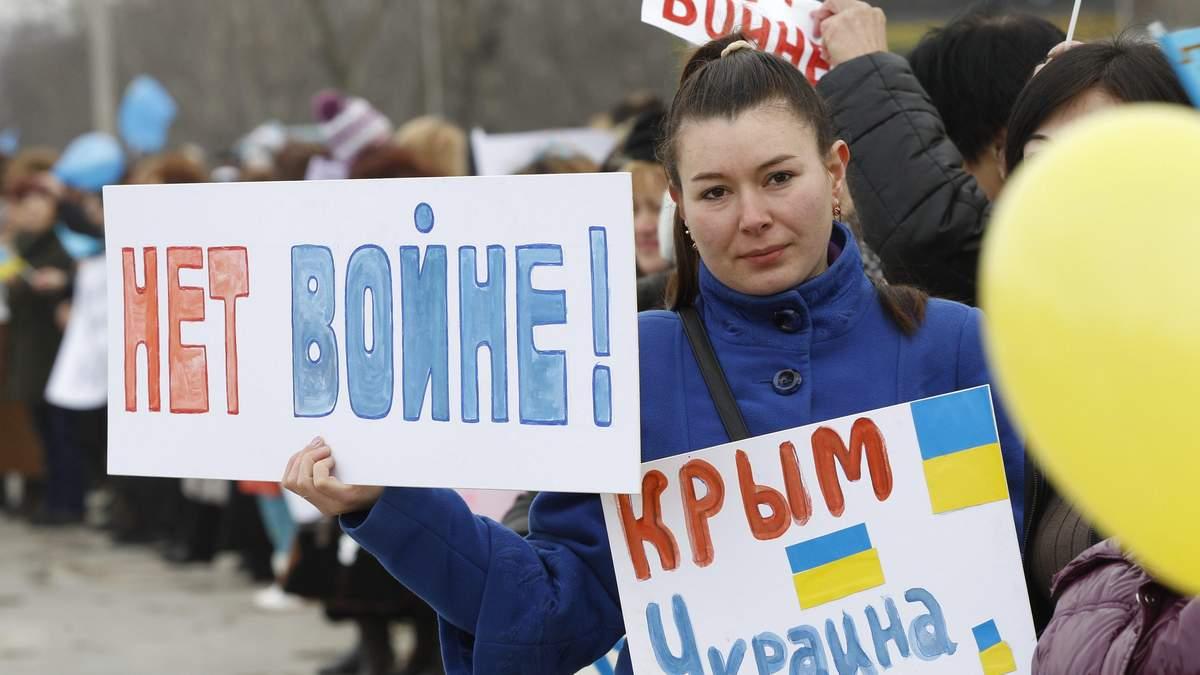 Про примирення з Росією: поки Україні не повернуть її території, немає про що говорити