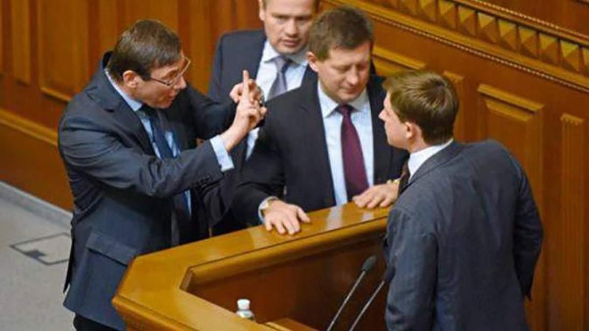 Луценко претендует на пост президента?