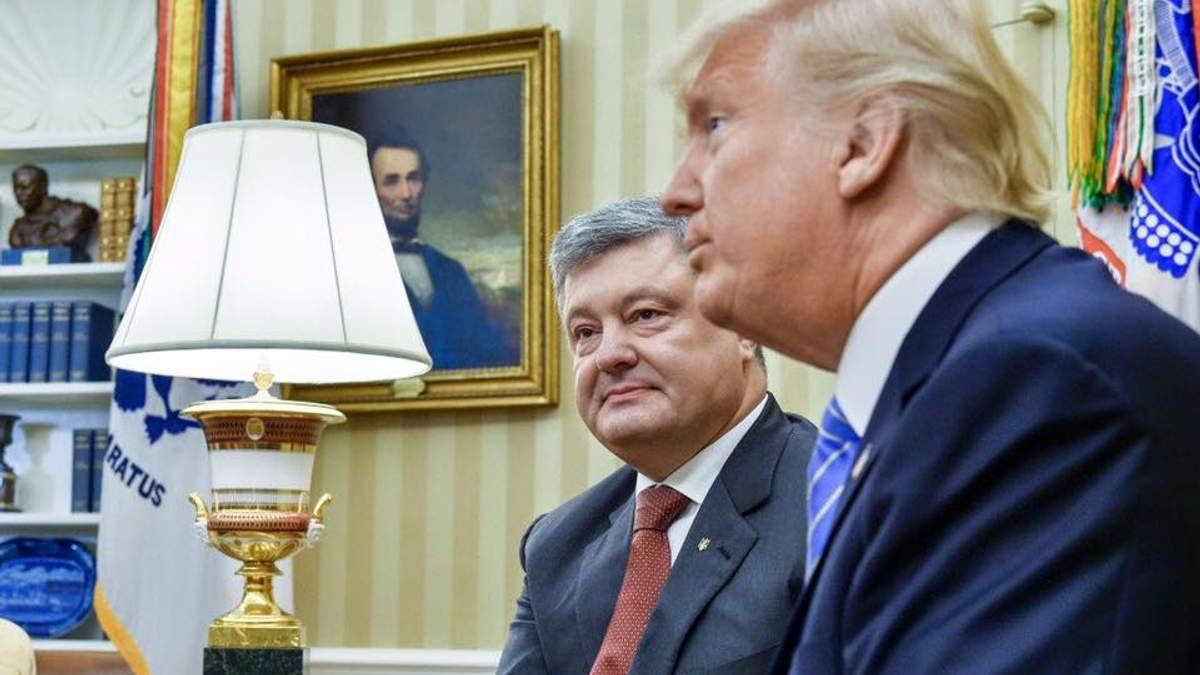 Про зустріч Президента із Трампом: зміни формату АТО не буде