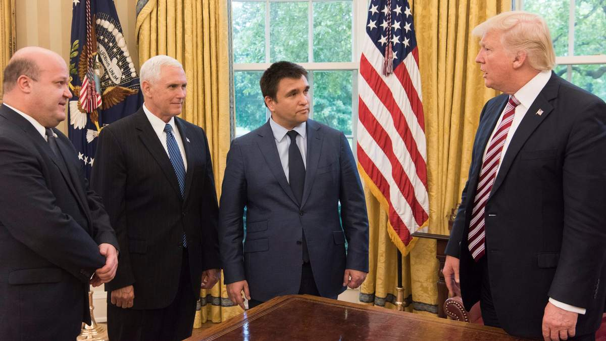 Зустріч Дональда Трампа із Павлом Клімкіним