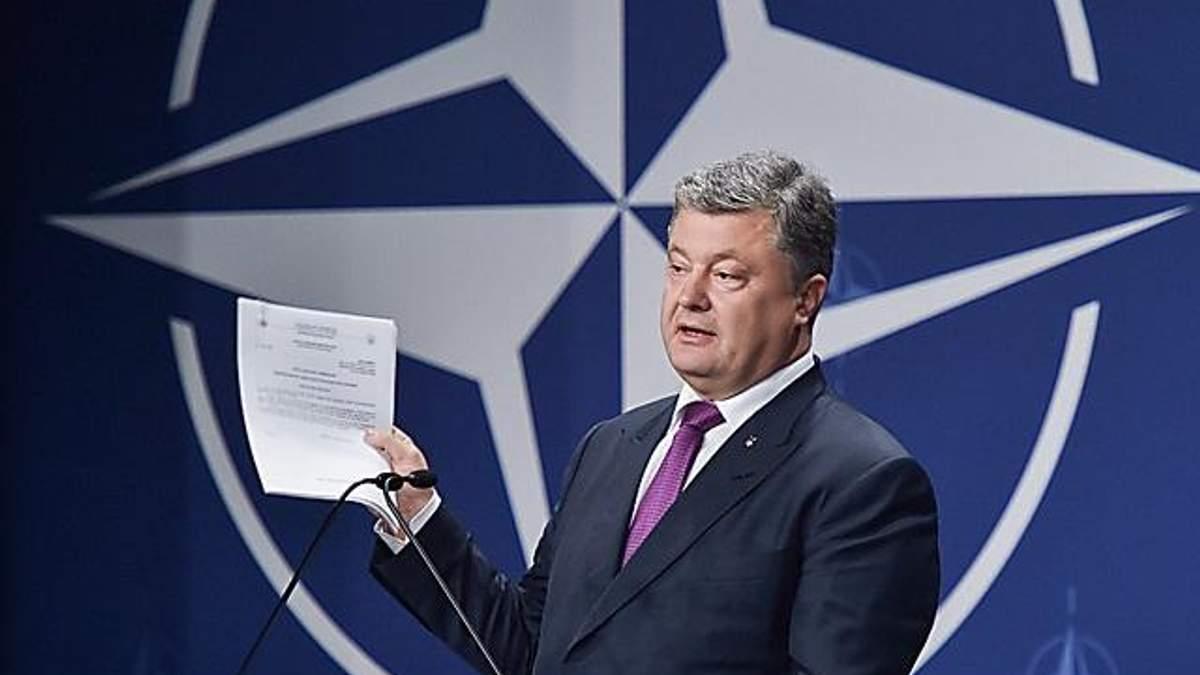 Петро Порошенко заявив про проведення референдуму щодо вступу України до НАТО