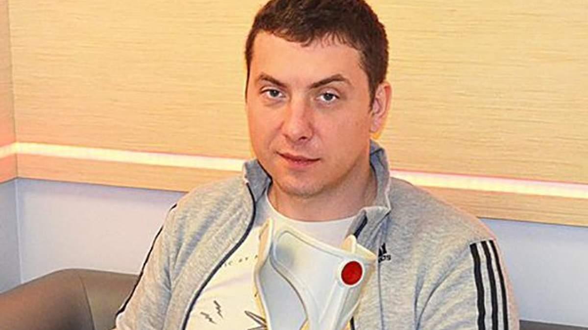 Український військовий на реабілітації