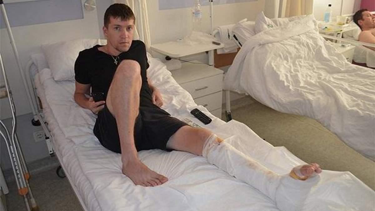 26-річний Віталій отримав травму в бою біля Савур-Могили