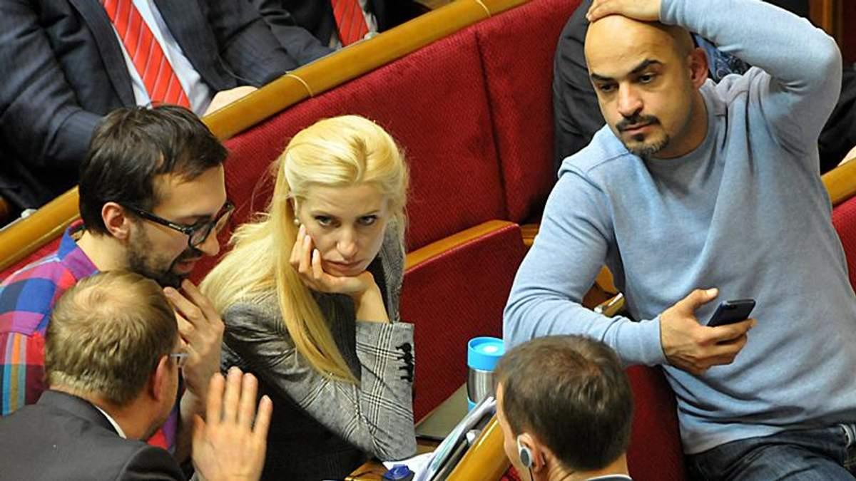 Народні депутати у Верховній Раді