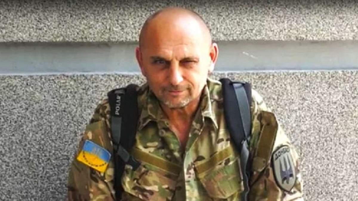 "Доброволець батальйону ""Донбас"" Олег"