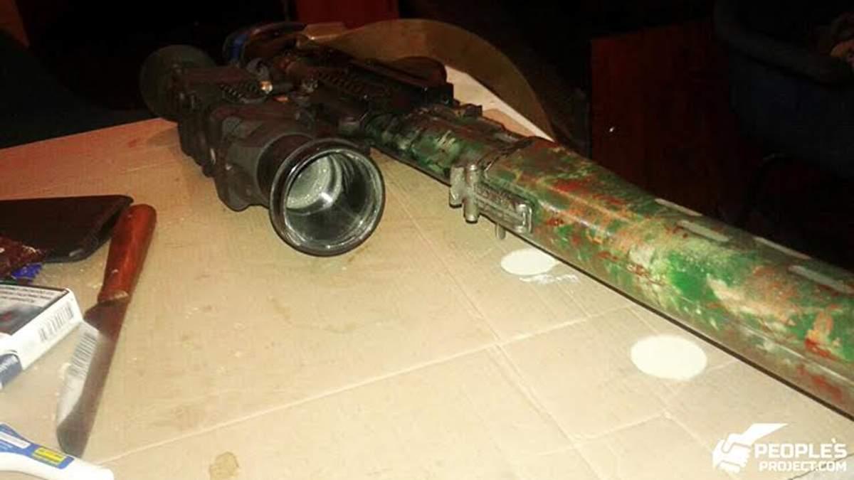 Рушниця загиблого снайпера