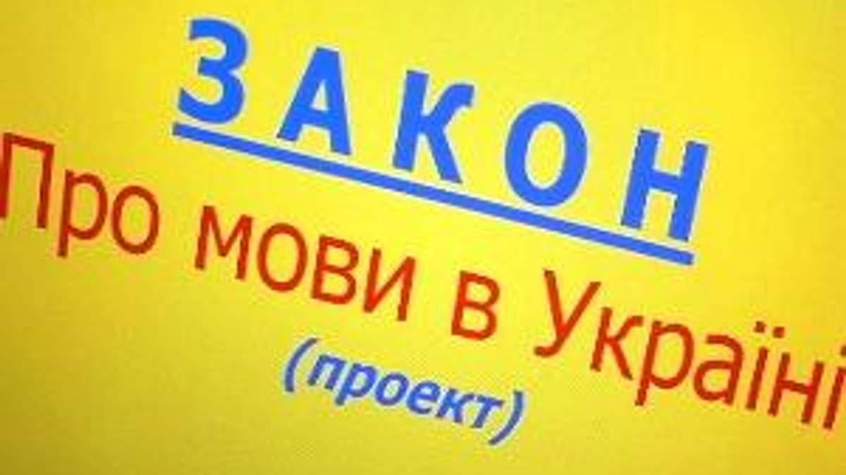 Закон про мови в Україні