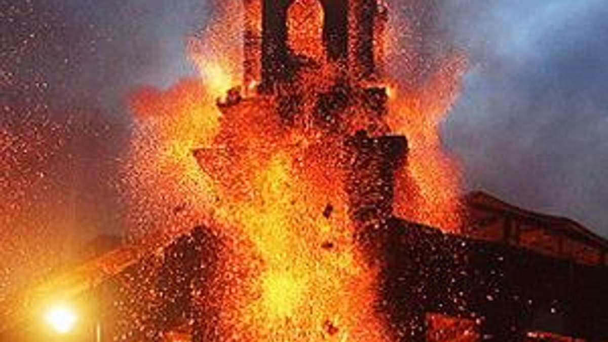 Лондон у вогні…