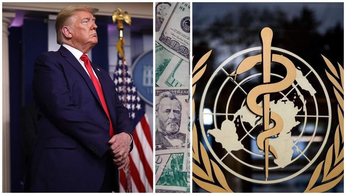 Трамп не даватиме гроші ВООЗ