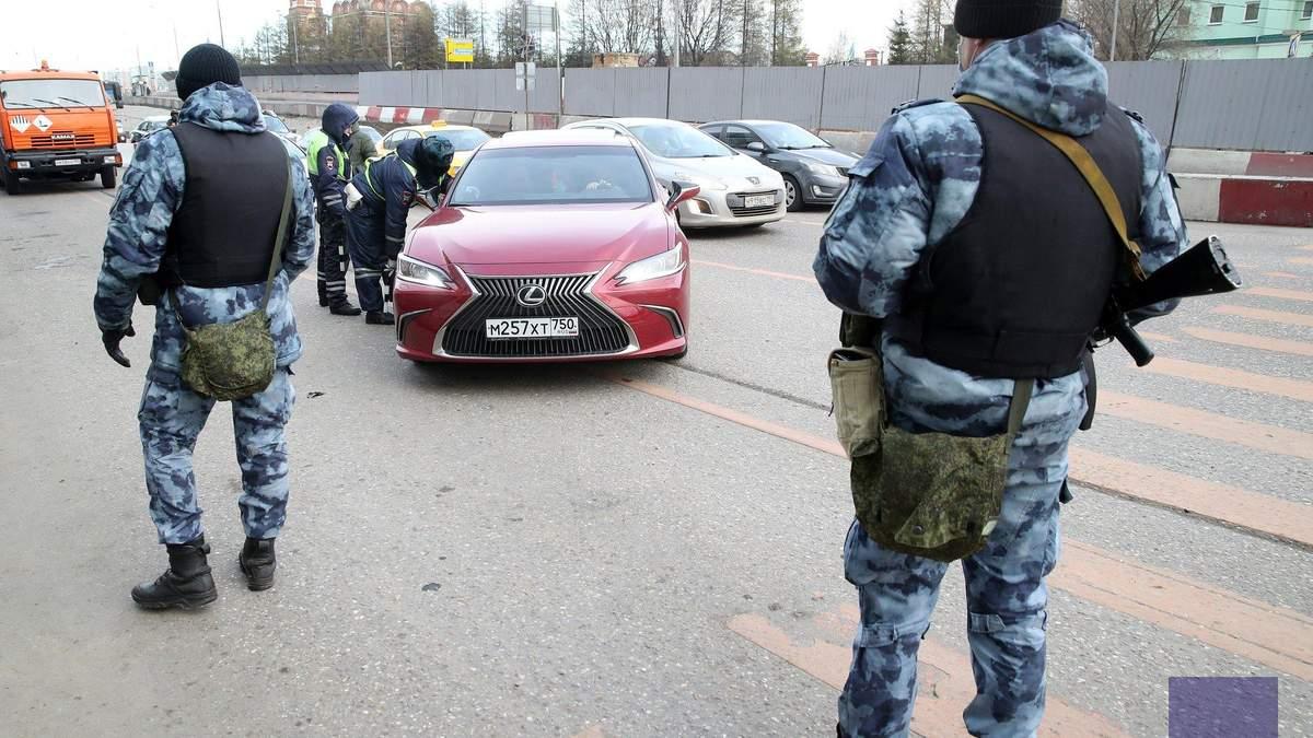 Пропускной режим в Москве - пробки на дорогах, очереди в метро