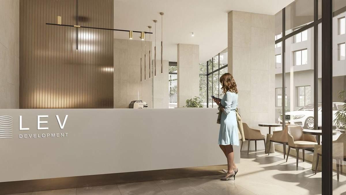 Управляющая компания LEV Development предлагает жителям обслуживание дома