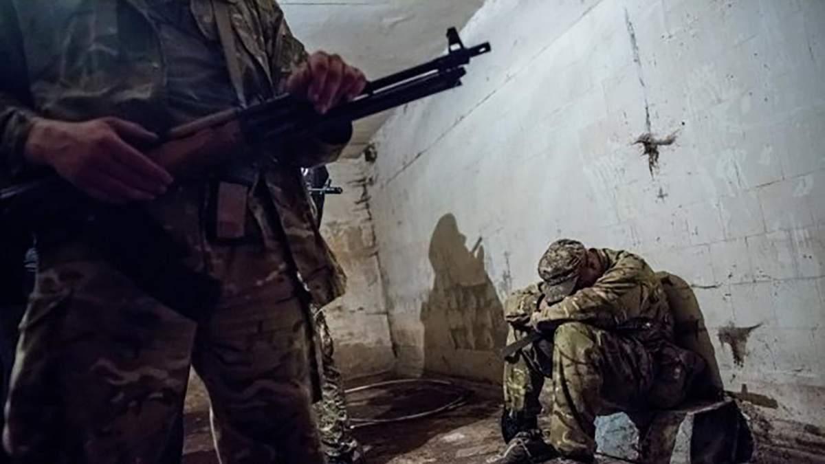 Катування бойовиками полонених українців