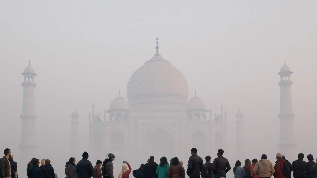 Тадж-Махал і смог