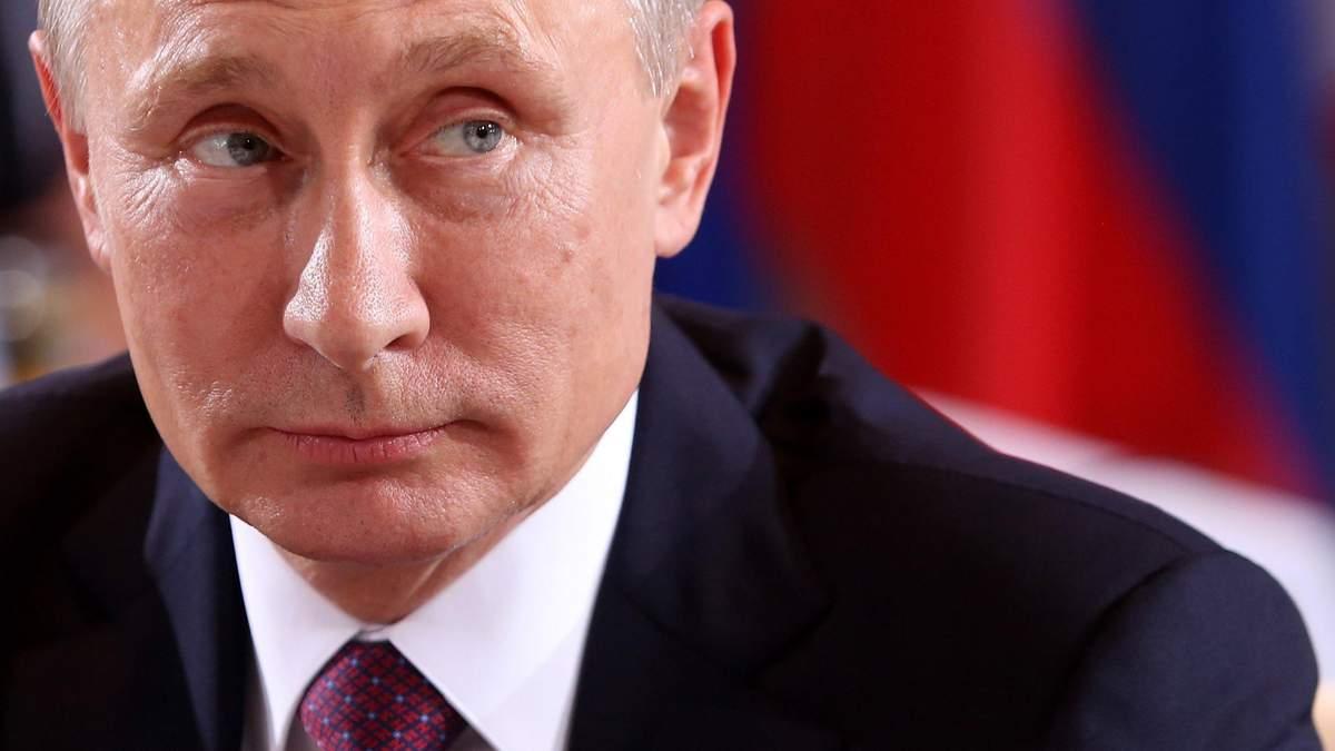 Російський президент Володимир Путін