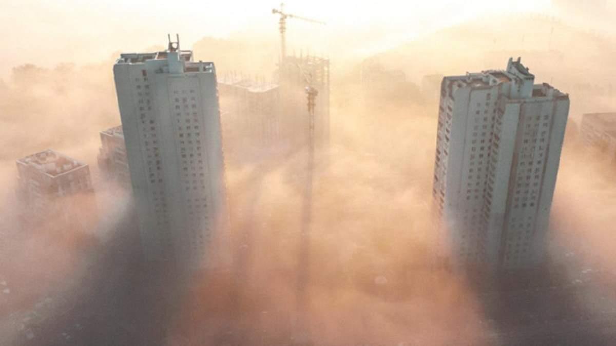 Забруднене повітря у Києві: чому ситуація погіршується вночі