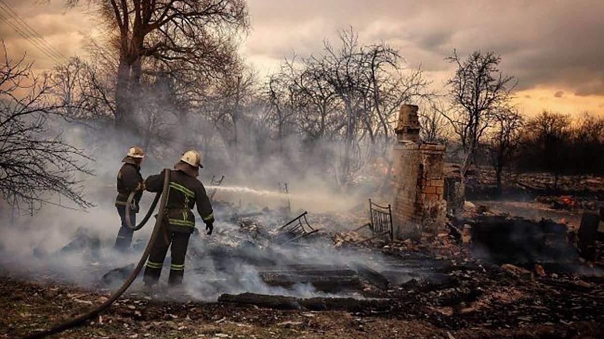 Пожар в Житомирской области 2020 – видео, карта и фото