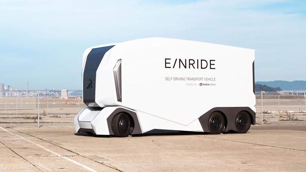 Вантажівки майбутнього Einride: 1 водій зможе керувати кількома фурами одночасно – фото, відео