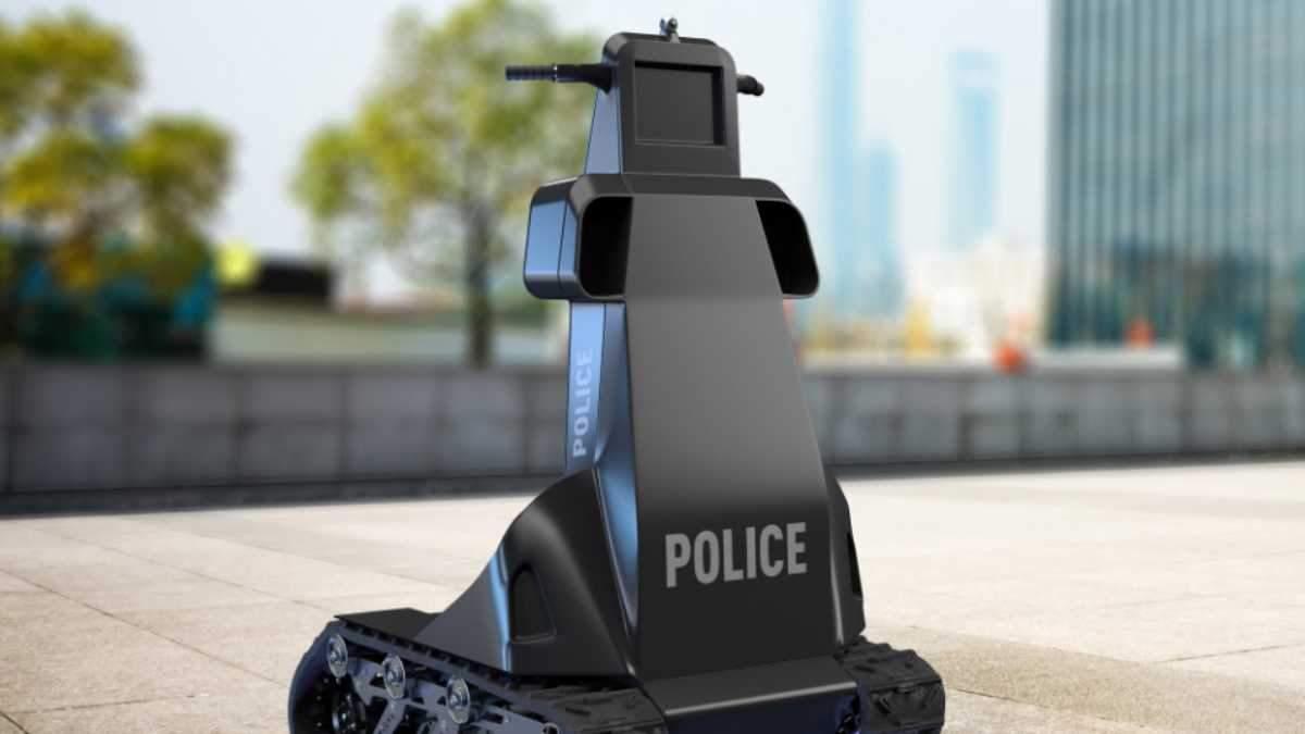 Робот-поліцейський