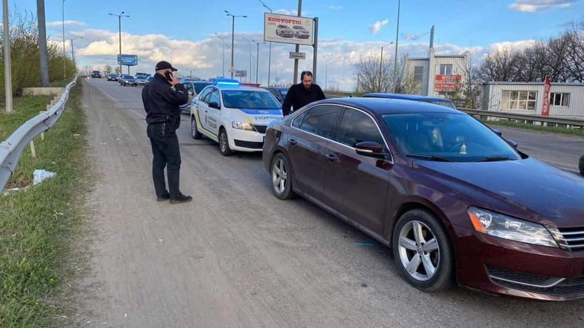 У Харкові п'яний священник на авто намагався втекти від поліції