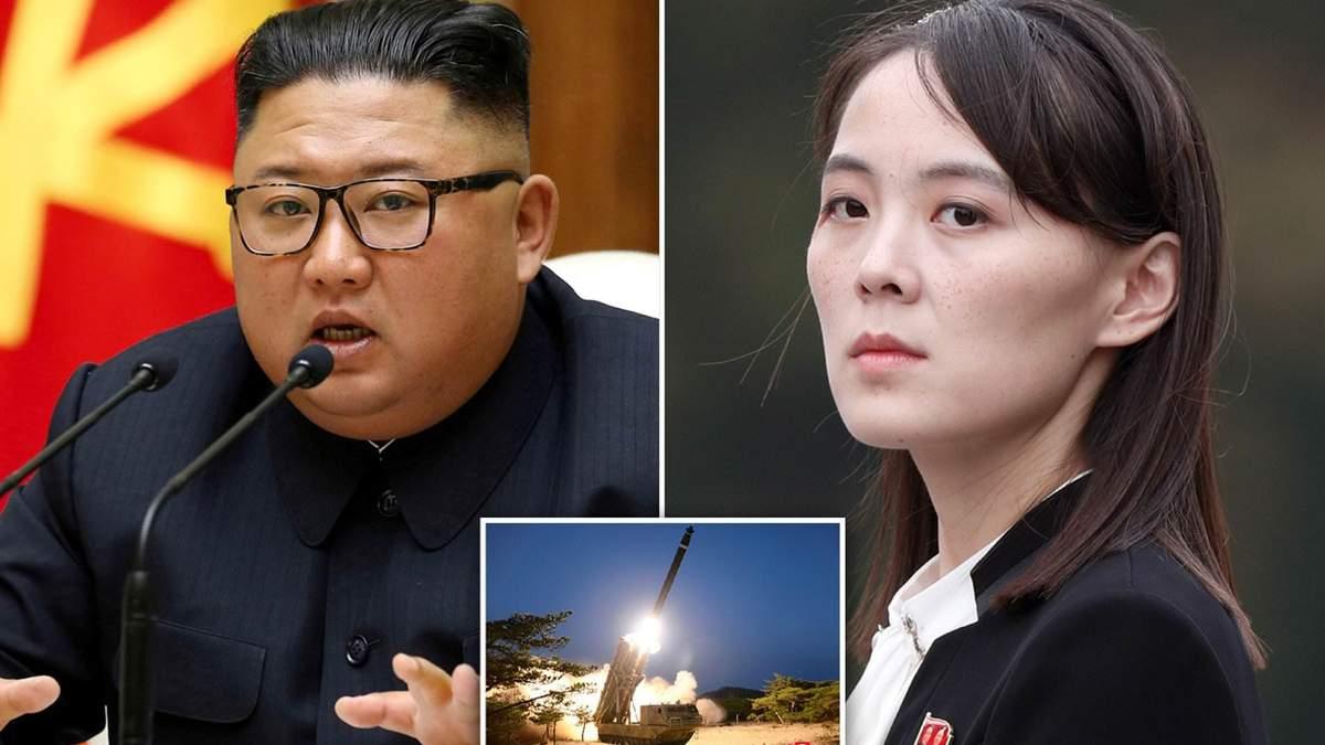 Керівник КНДР Кім Чен Ин та його сестра Кім Йо Чжон